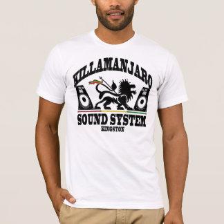Killamanjaro solides System Kingston Jamaika T-Shirt
