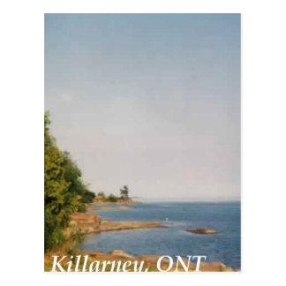 Killarney, Ontario Postkarte