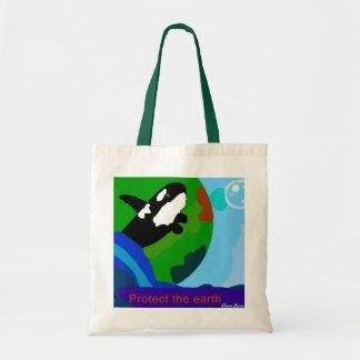 Killerwal schützen die Erdtasche Einkaufstasche