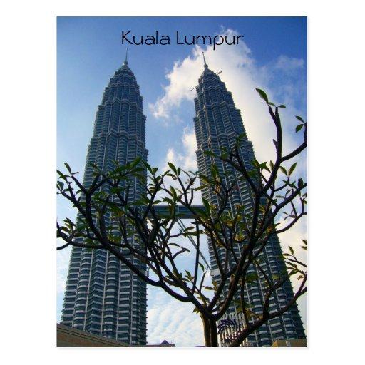 Kiloliter Petronas Postkarten