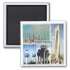 Kilowatt * Kuwait Quadratischer Magnet