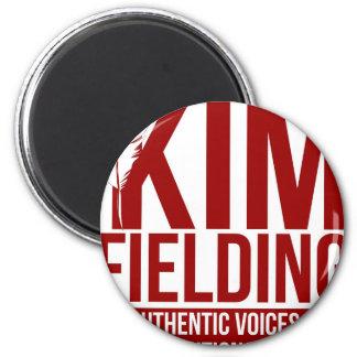 Kim, das Logo auffängt Runder Magnet 5,1 Cm