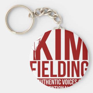 Kim, das Logo auffängt Schlüsselanhänger