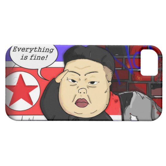Kim Jong Un i-Phone Case iPhone 5 Cover