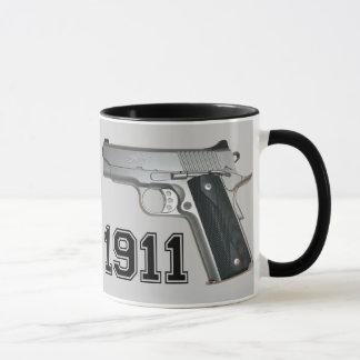 Kimber 1911 Grau-Kaffee-Tasse Tasse