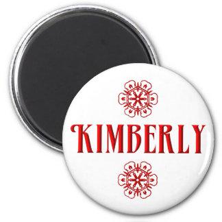 Kimberly Runder Magnet 5,1 Cm