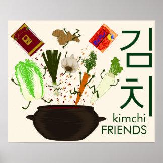 Kimchi Freund-Plakat Poster