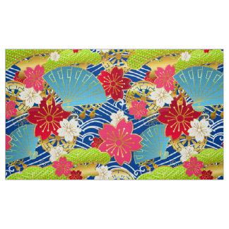 Kimono redete Muster Gewebe an Stoff