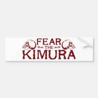Kimura Autoaufkleber