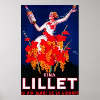 Kina Lillet Vintages PosterEurope