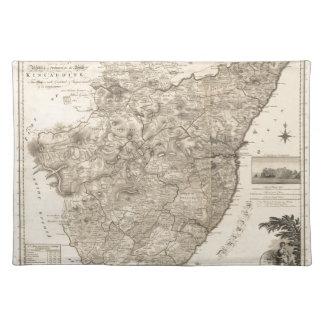 Kincardine Schottland 1774 Tischset