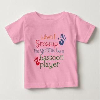 Kind des Bassoon-Spieler-(Zukunft) Baby T-shirt