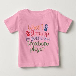 Kind des Trombone-Spieler-(Zukunft) Baby T-shirt