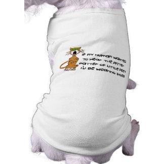 Kind-Freie Miezekatze-Katze Shirt