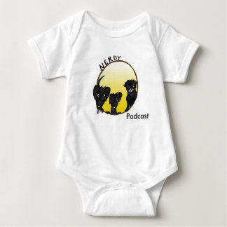 Kind-freundlicher Podcastkörper-Anzug Baby Strampler