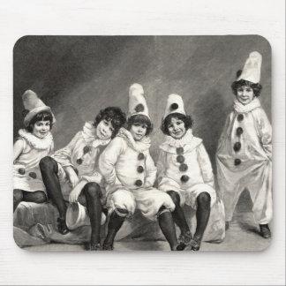 Kind Friedrich Kaulback Kindercarneval Arlequin Mauspads