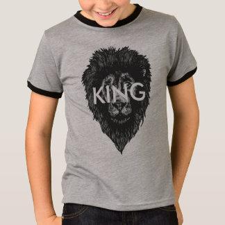 Kind-KÖNIG Löwe Wecker-T-Stück T-Shirt