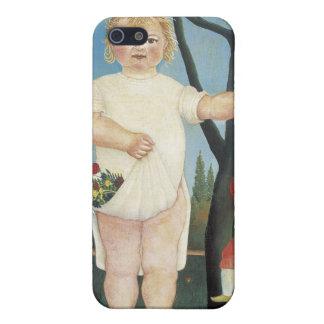 Kind mit einer Marionette - Henri Rousseau iPhone 5 Etui