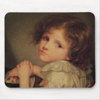 Kind mit einer Puppe Mauspads