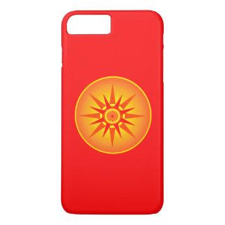 """Kind von The Sun"" roter Telefon-Kasten iPhone 8 Plus/7 Plus Hülle"