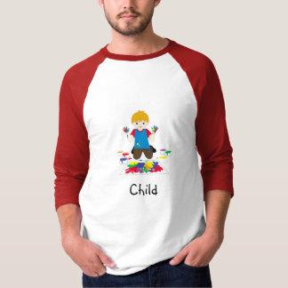 Kindc$fingermalerei T - Shirt