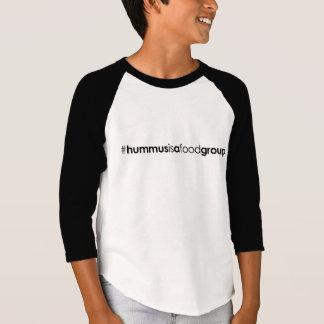 Kinder 3/4 Hülse #hummusisafoodgroup T - Shirt