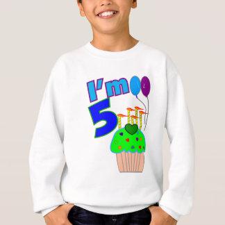 Kinder 5-Jährige Geburtstags-Shirts und -geschenke Sweatshirt