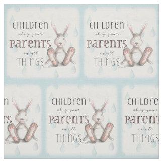 Kinder befolgen Ihre Eltern - Col.-3:20 Stoff