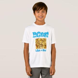 """Kinder, """"brüllen Sie Shirt wie eines Löwes"""""""
