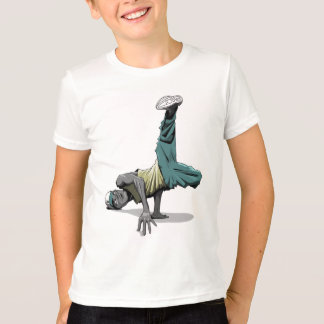 Kinder der Bruchtanz-Pose 1 T-Shirt