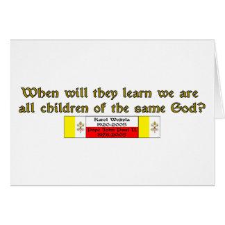 Kinder des gleichen Gottes 1 Karte