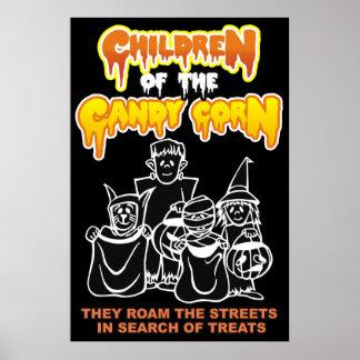 Kinder des Süßigkeits-Mais Poster