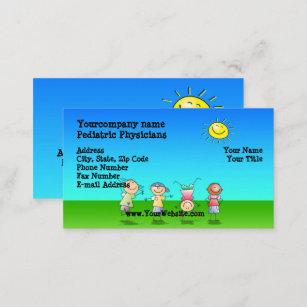 Zahnarzt Kinder Visitenkarten Zazzle De