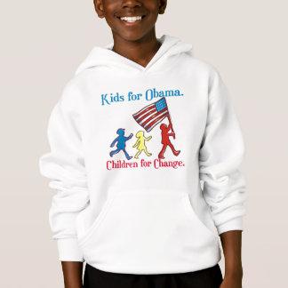 Kinder für Obama Hoodie
