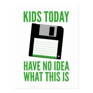 Kinder haben heute keine Ahnung was dieses ist Postkarten