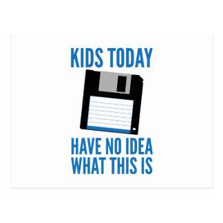 Kinder haben heute keine Ahnung, was dieses ist Postkarten