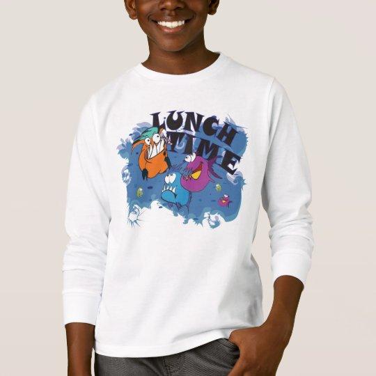 Kinder  Sweatshirt  Motiv: Piranha Lunch Time