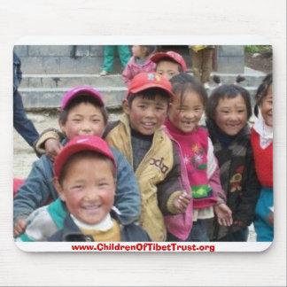 Kinder von Tibet Mauspad