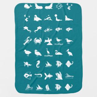 Kinderbaby-Kindervogel-Tier-Fisch-Haustiere Kinderwagendecke