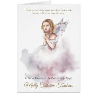 Kinderbegräbnis danken Ihnen   schöner Engel 1 Karte
