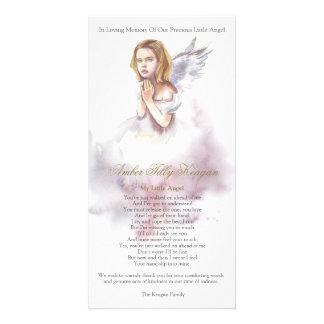 Kinderbegräbnis danken Ihnen   schöner Engel Karte