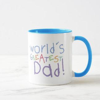 Kinderbestste Vati-Wecker-Tasse Tasse