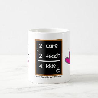Kinderbetreuungs-Anbieter ♥ 2care2teach4kids Kaffeetasse