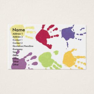 Kinderbetreuungs-Visitenkarten Visitenkarten