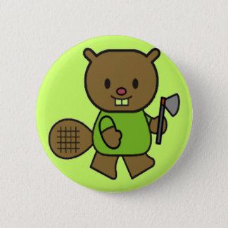 Kinderbiber-T-Shirts und Geschenke Runder Button 5,7 Cm