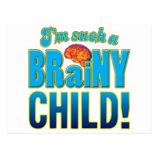 KinderBrainy Gehirn Postkarte
