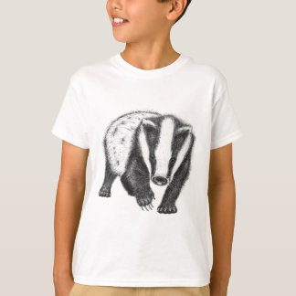 Kinderdachs-Kunst-T - Shirt