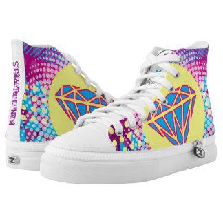 Kinderdykes lila Dunst Hoch-geschnittene Sneaker