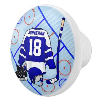 Kindereis-Hockey-Schlafzimmer- und Keramikknauf