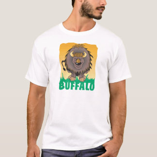 Kinderfreundlicher Büffel T-Shirt